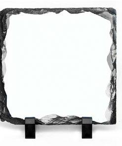 Квадратна скална плоча за снимка