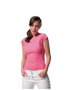 Дамска Еластична Памучна Тениска Russell