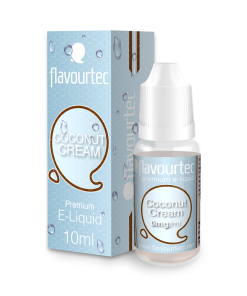Coconut Cream 10ml-Flavourtec Premium E-Liquid