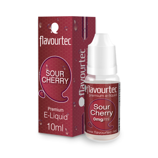 Sour Cherry 10ml-Flavourtec Premium E-Liquid