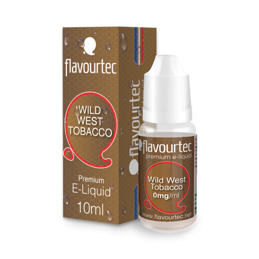 Wild West Tobacco 10ml-Flavourtec Premium E-Liquid